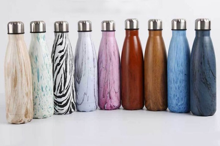 Drikkeflaske i rustfritt stål