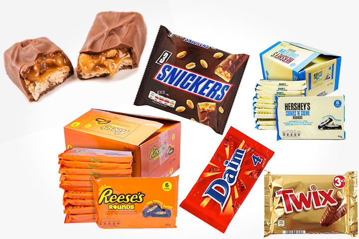 Mixade chokladlådor