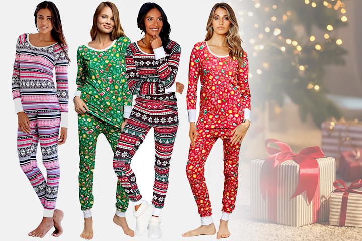 XMAS pyjamas-sett