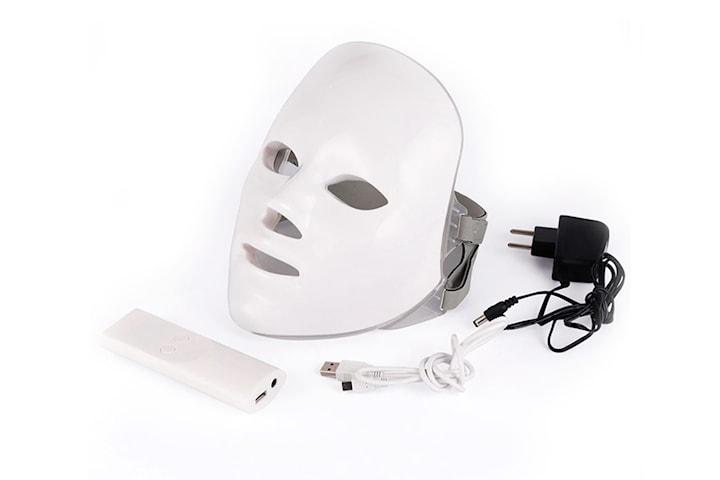 LED-ansiktsmaske med 7 farger