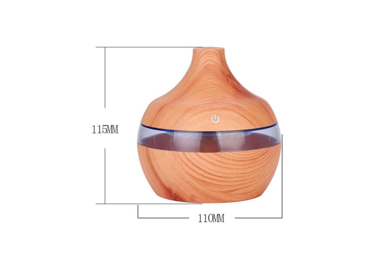 Luftfuktare med LED-ljus