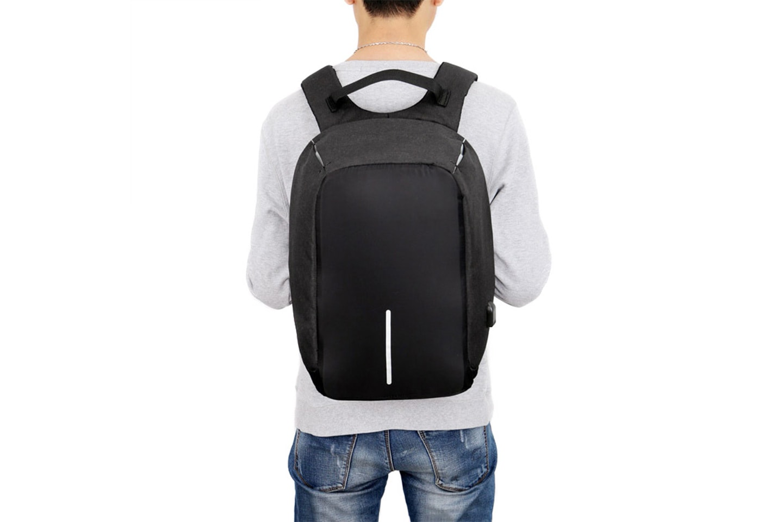 Anti stöld-ryggsäck