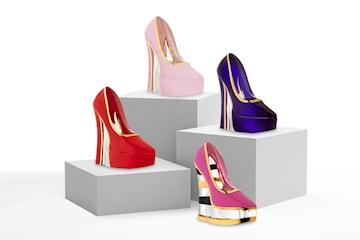 Kosta Boda Make Up Shoe