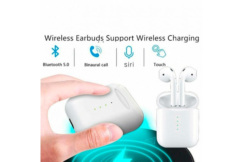 Apple- och Siri-kompatibla trådlösa hörlurar