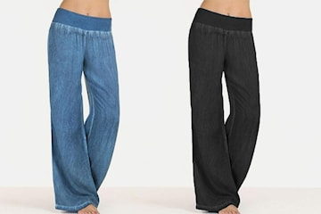 Vida byxor i jeans-design dam