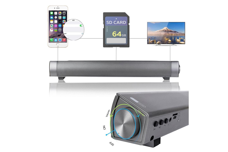 Soundbar-högtalare med Bluetooth