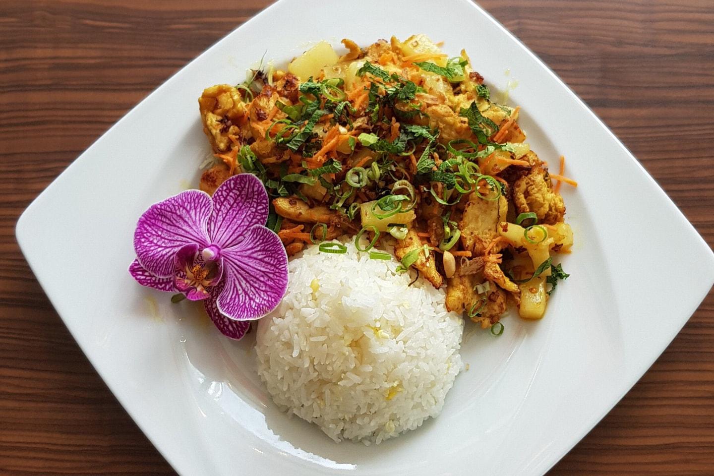 Vietnamesisk middag på Hanoi