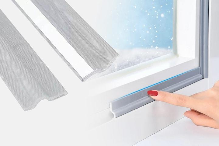 Självhäftande tätningslist för fönster