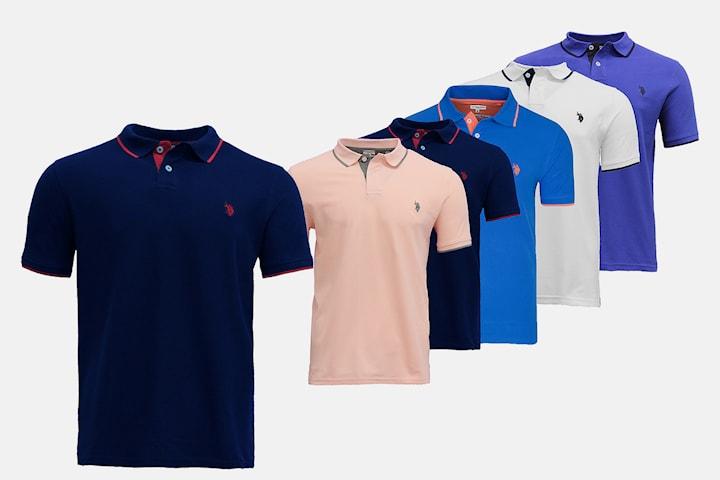 Piquetskjorter fra U.S. Polo Assn