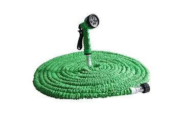 20m Magic Hose ekspanderende vannslange - Grønn