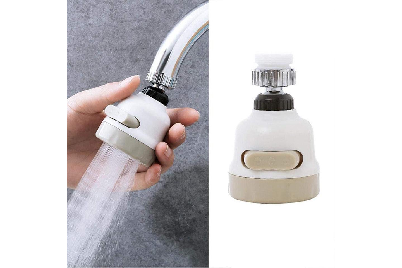 Bevegelig dusjhode til kranen