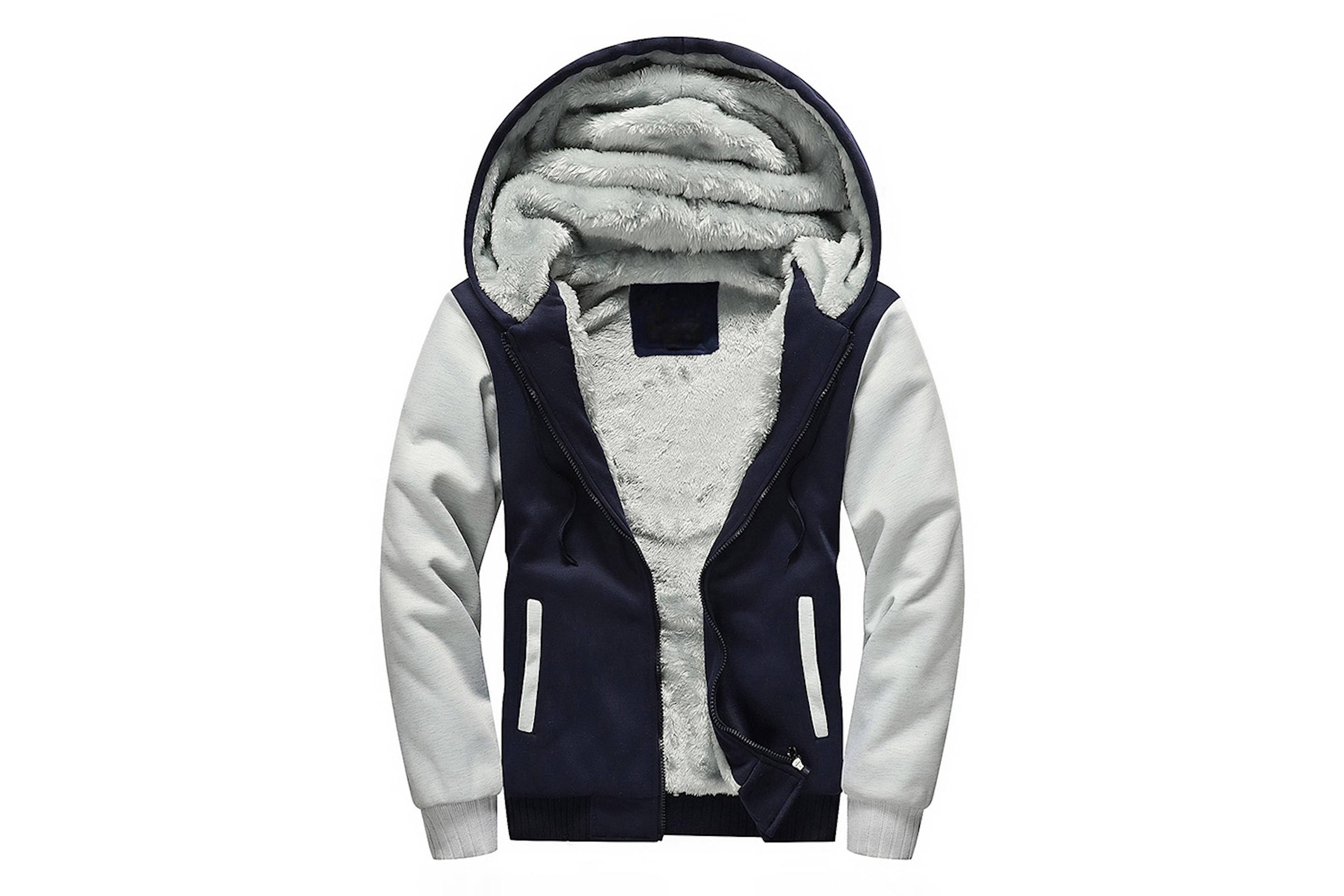 Varm och mjuk hoodie