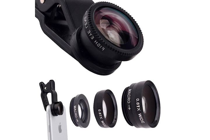 3 i 1 lins Universal Telefonkamera