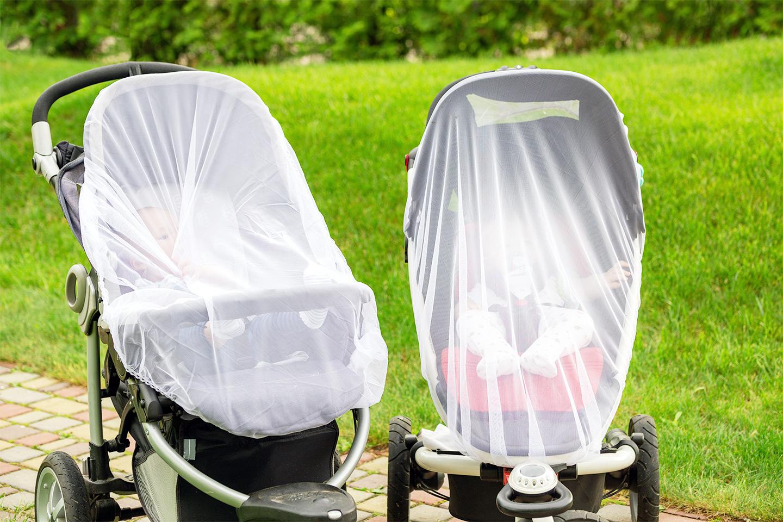 Insektsnett til barnevogn (1 av 2)