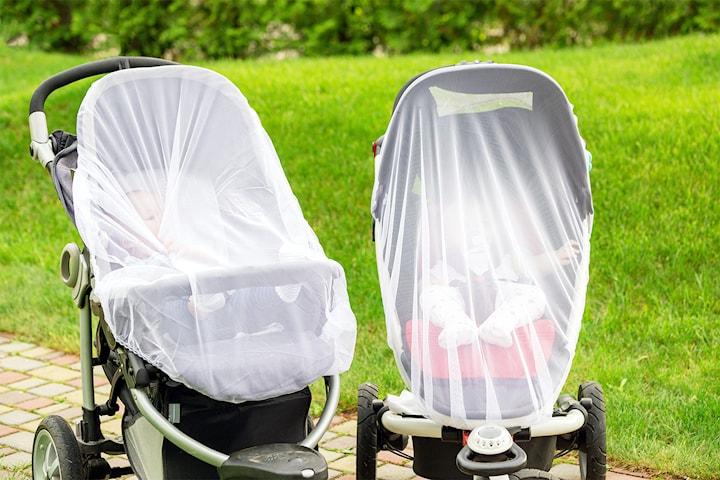 Insektsnett til barnevogn