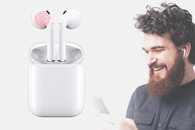 Oppgradert modell! i14 TWS Trådløse Bluetooth in-ear hodetelefoner (1 av 15)