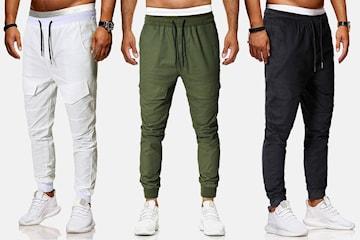 Trendy myke bukser herre