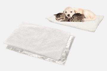 Självvärmande matta för husdjur