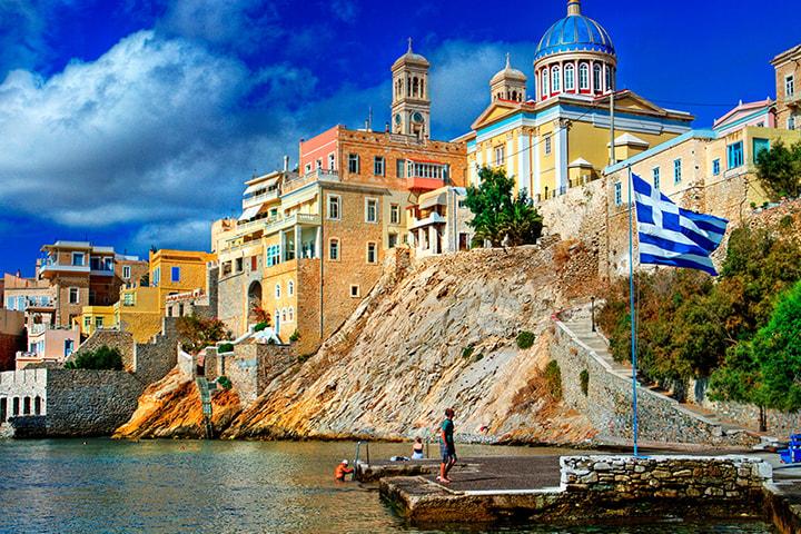 Grekland med Let's deal travel inkl. hotell och flyg