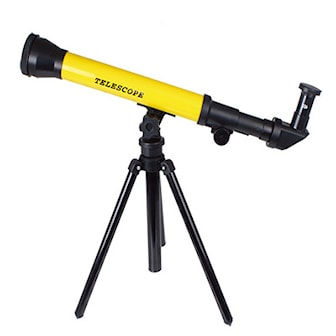 Gul, Kids Astronomical Telescope Toy, Teleskop til barn, ,