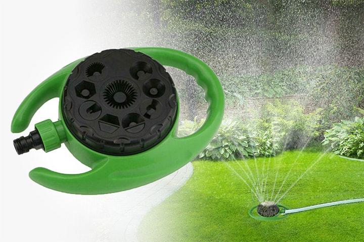 Sprinkler til hagen