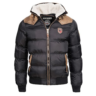 Svart, 3XL, Geographical Norway, Winter Jackets, Geographical Norway vinterjakke, ,