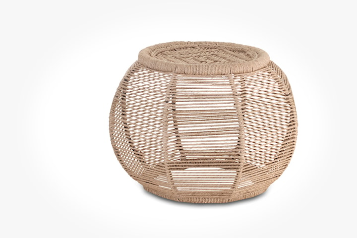 A Simple Mess handvävd pall