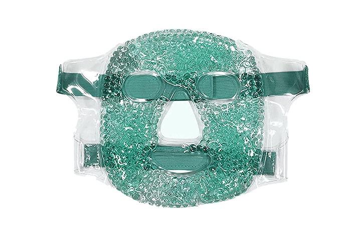 Ansiktsmaske med gel