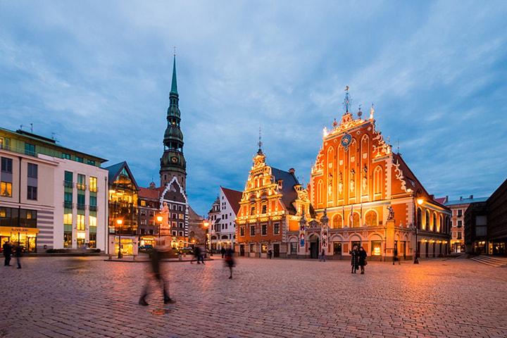 40-timmarskryssning till Riga med Tallink