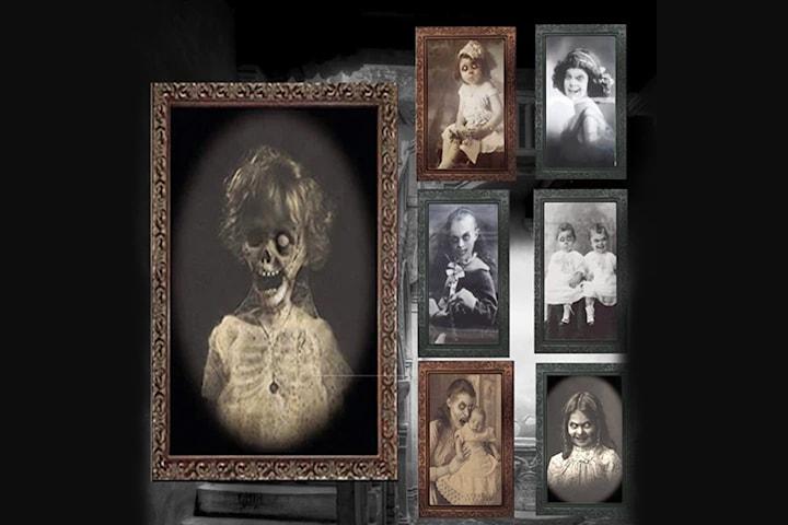 3D bilder med spøkelsestema