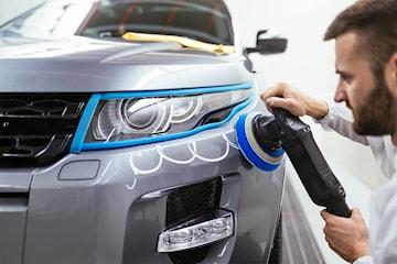 Supervask av bilen hos BM Wax
