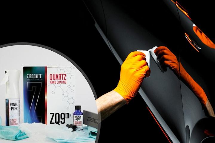 ZQ9 coating og polering av bilen hos Aquashine Bilpleie og Dekk
