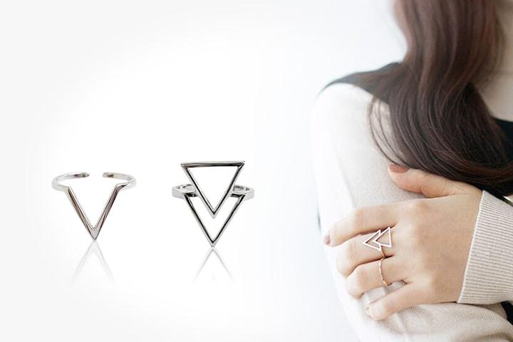 Van Amstel Diamond ring i silver