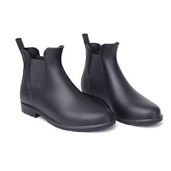 Svart, 38, Chelsea Rain Boots, Regnstøvler, ,