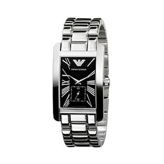 AR0157, AR0157, Armband: silver, rostfritt stål. Urtavla: svart, rostfritt stål. Mått: 25 mm,