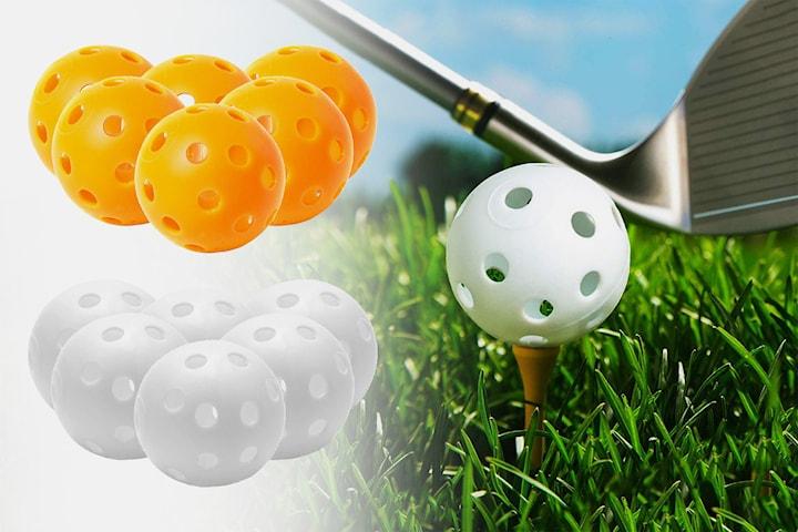 Träningsbollar för golf