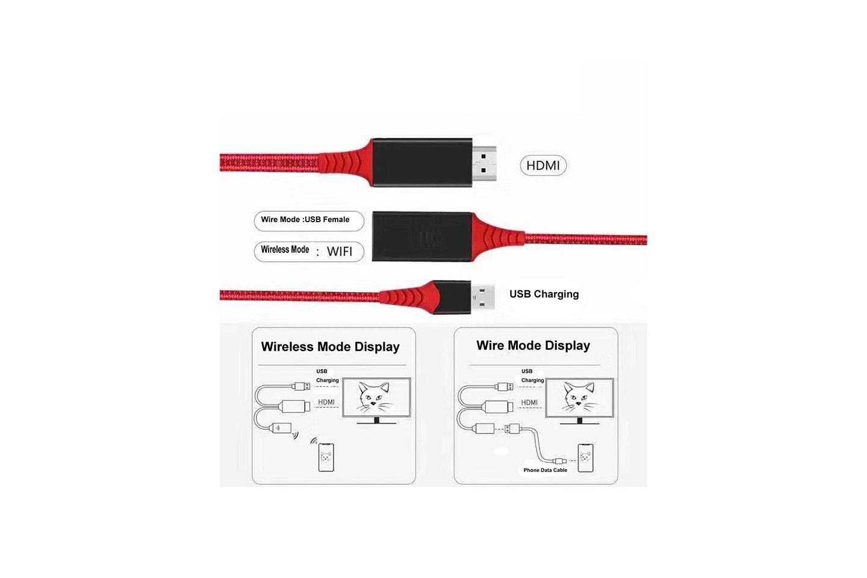HDMI-adapter för Android och IOS