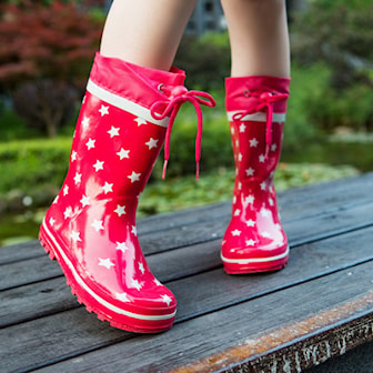 Röd, 27, Rain Snow Boots For Kids, Gummistövlar för barn, ,
