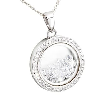 Full Moon, Five beautiful pendant necklaces made with swarovski elements crystals, Swarovski-smykker, ,