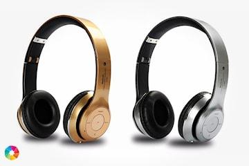Sammenleggbare hodetelefoner med Bluetooth