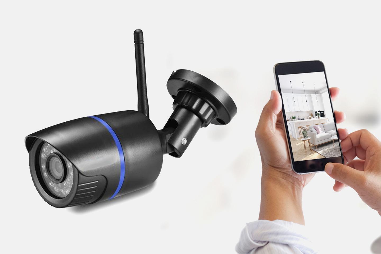Trådlös IP-kamera med rörelsedetektor (1 av 2)