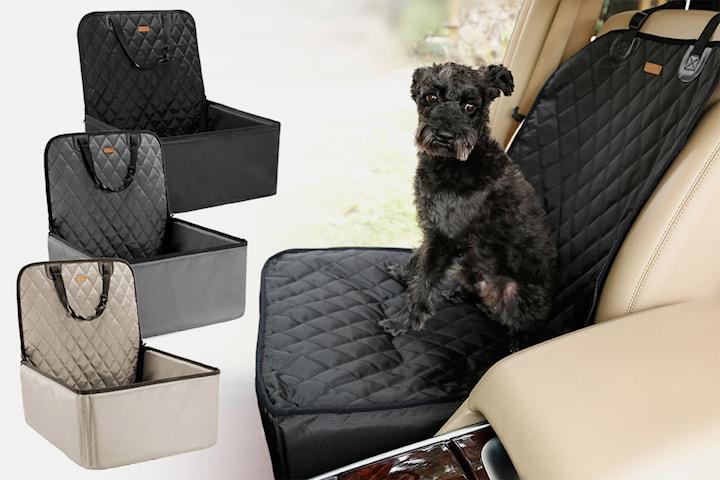 Bilstol för hund och katt