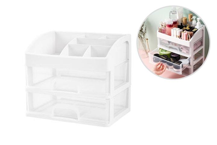 Organiseringslåda för smink