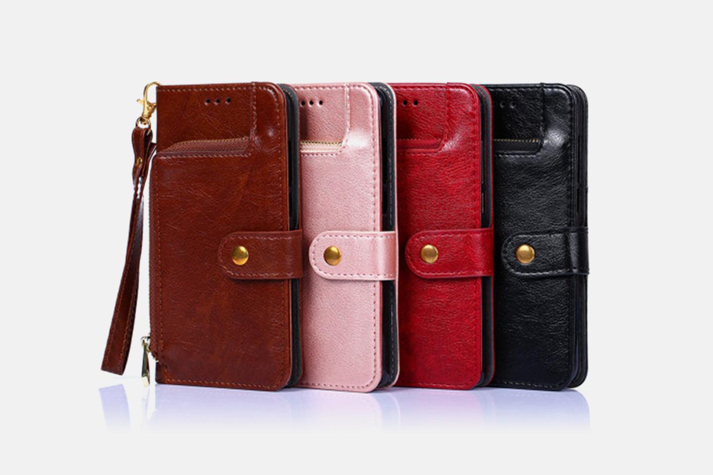 iPhonedeksel med lommebok (1 av 11)