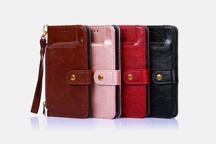 iPhone-fodral med plånbok