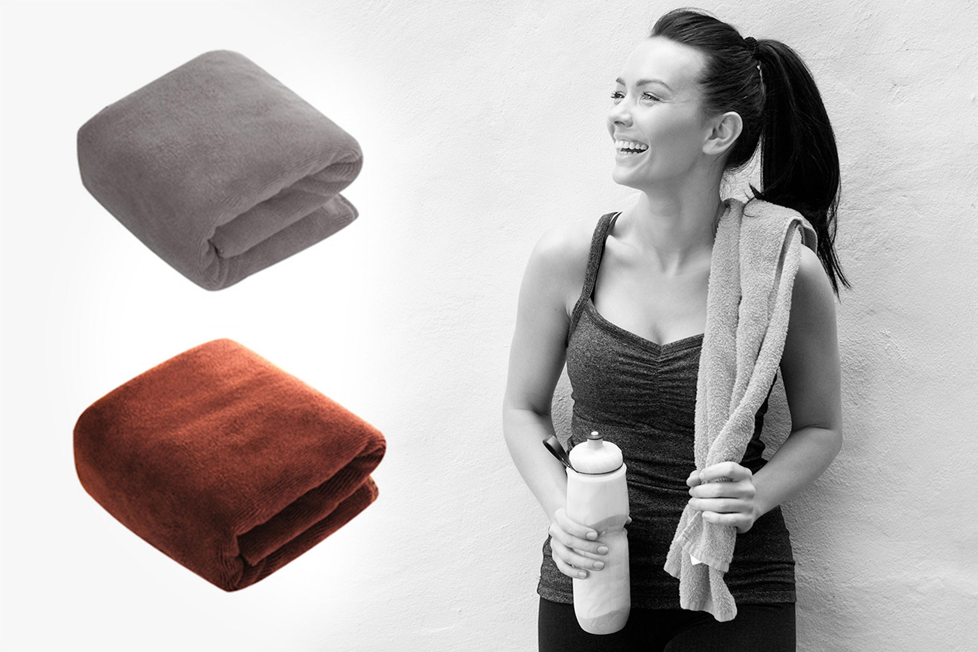 Absorberende håndkle i mikrofiber