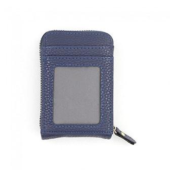 Blå, Antimagnetic Card Holder, Praktisk plånbok,