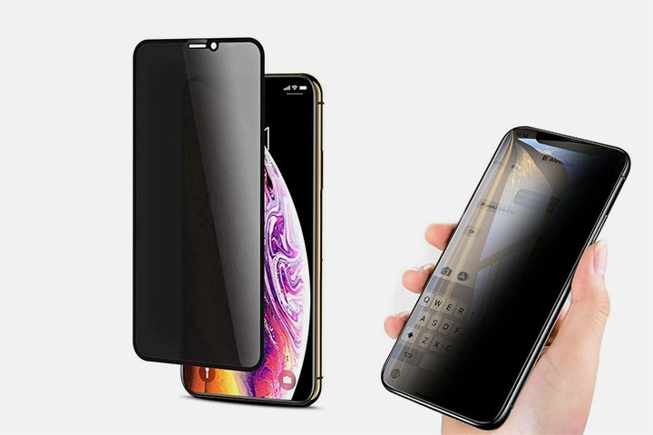 Härdat glas för iPhone