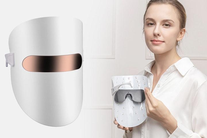 Foryngende LED-ansiktsmaske