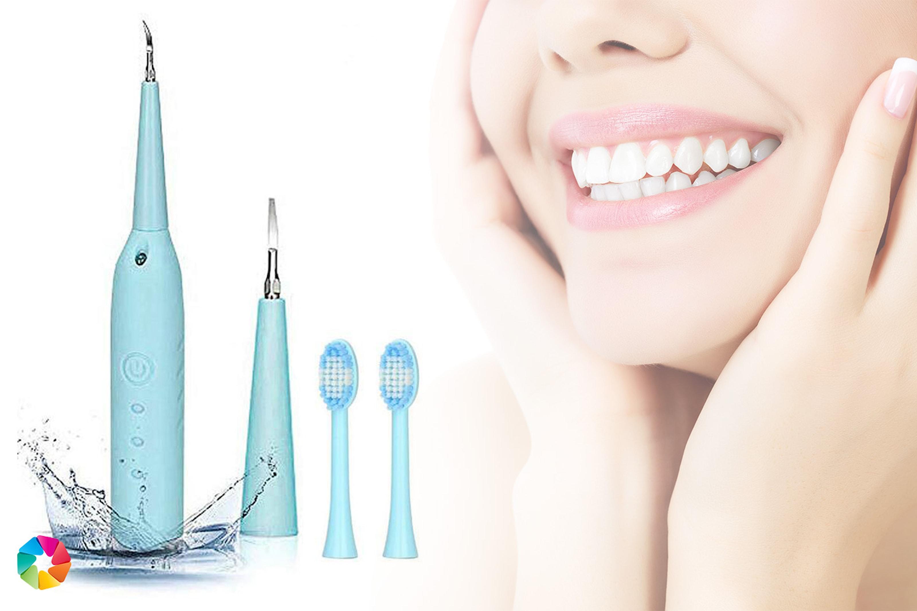 Elektrisk tandborste med plackavlägsnare